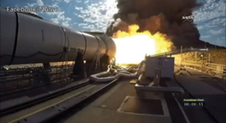 Featured photo for new post: NASA ROCKET BOOSTER TEST FEATURES ABC DUCT